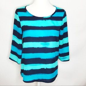 Express Striped Blouse T1202